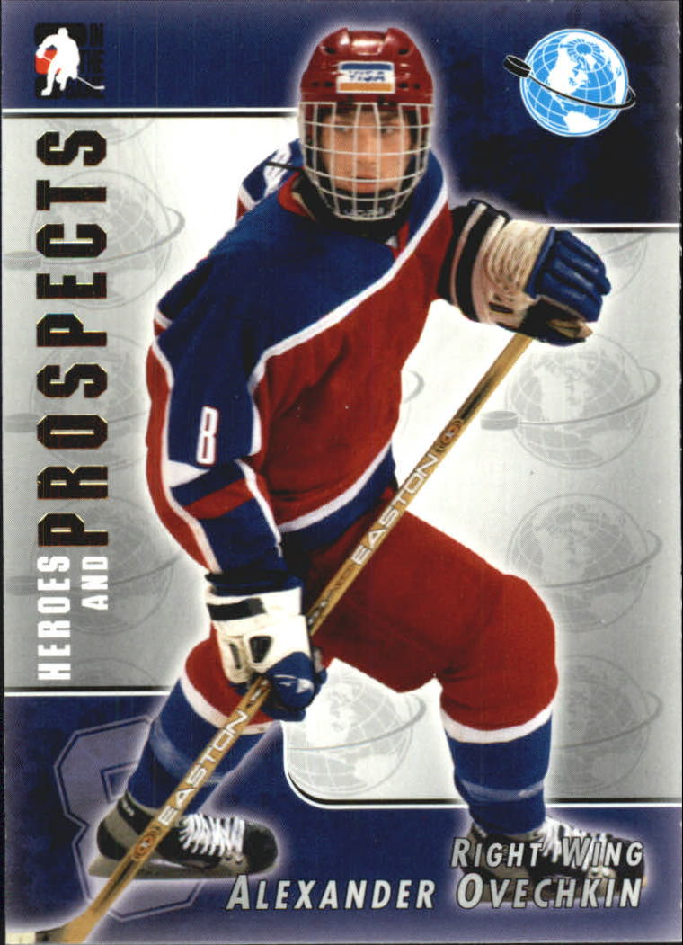 2004-05 ITG Heroes and Prospects #118 Alexander Ovechkin