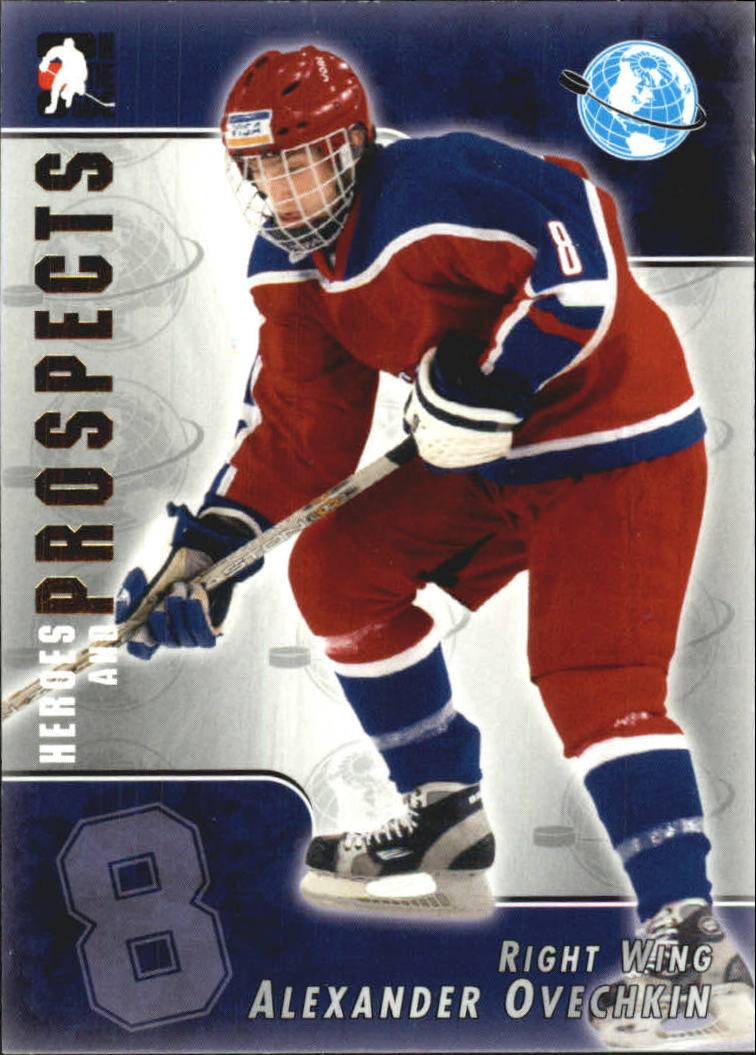 2004-05 ITG Heroes and Prospects #119 Alexander Ovechkin