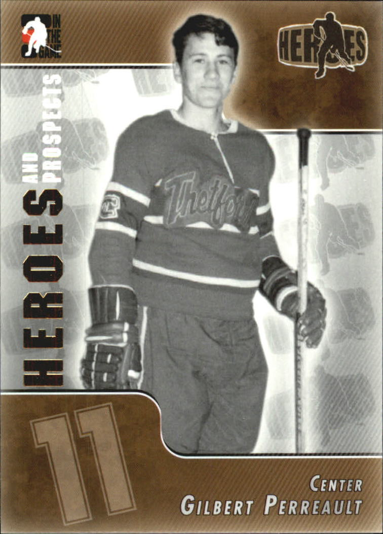 2004-05 ITG Heroes and Prospects #125 Gilbert Perreault