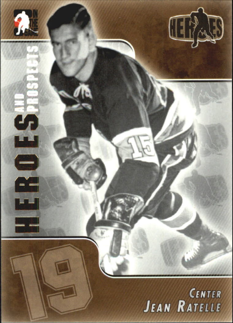 2004-05 ITG Heroes and Prospects #127 Jean Ratelle