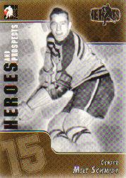 2004-05 ITG Heroes and Prospects #129 Milt Schmidt