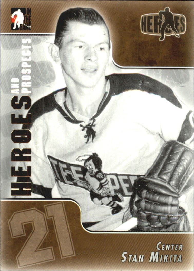 2004-05 ITG Heroes and Prospects #133 Stan Mikita