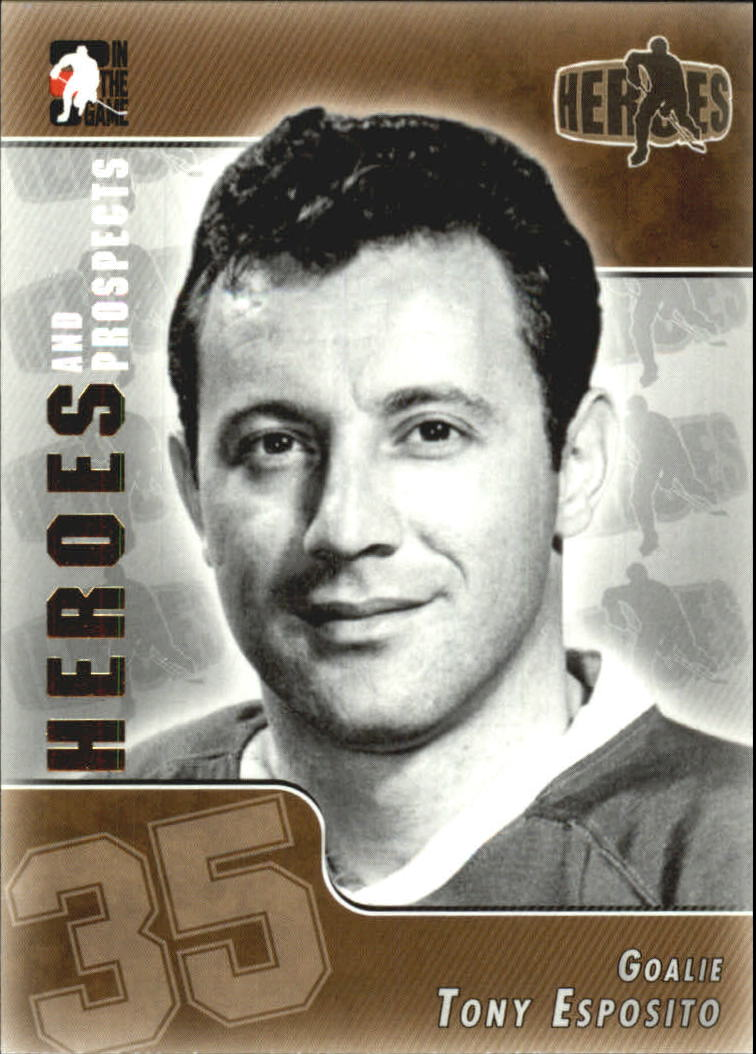 2004-05 ITG Heroes and Prospects #134 Tony Esposito