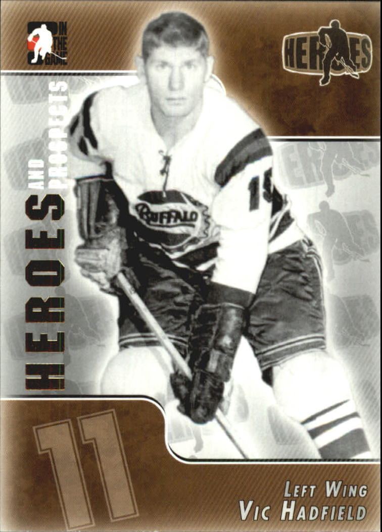 2004-05 ITG Heroes and Prospects #135 Vic Hadfield
