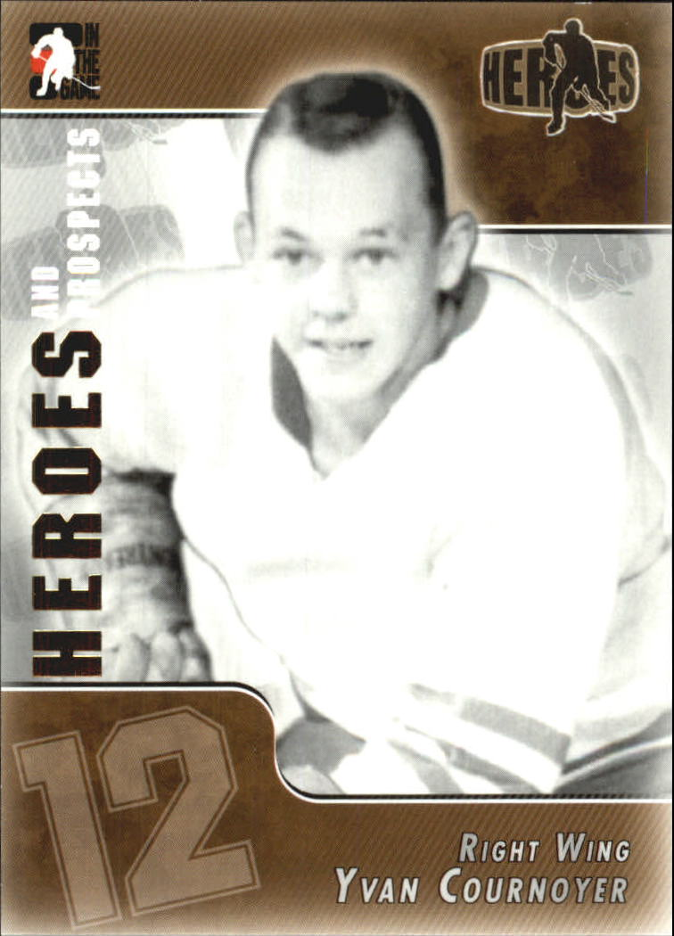 2004-05 ITG Heroes and Prospects #137 Yvan Cournoyer