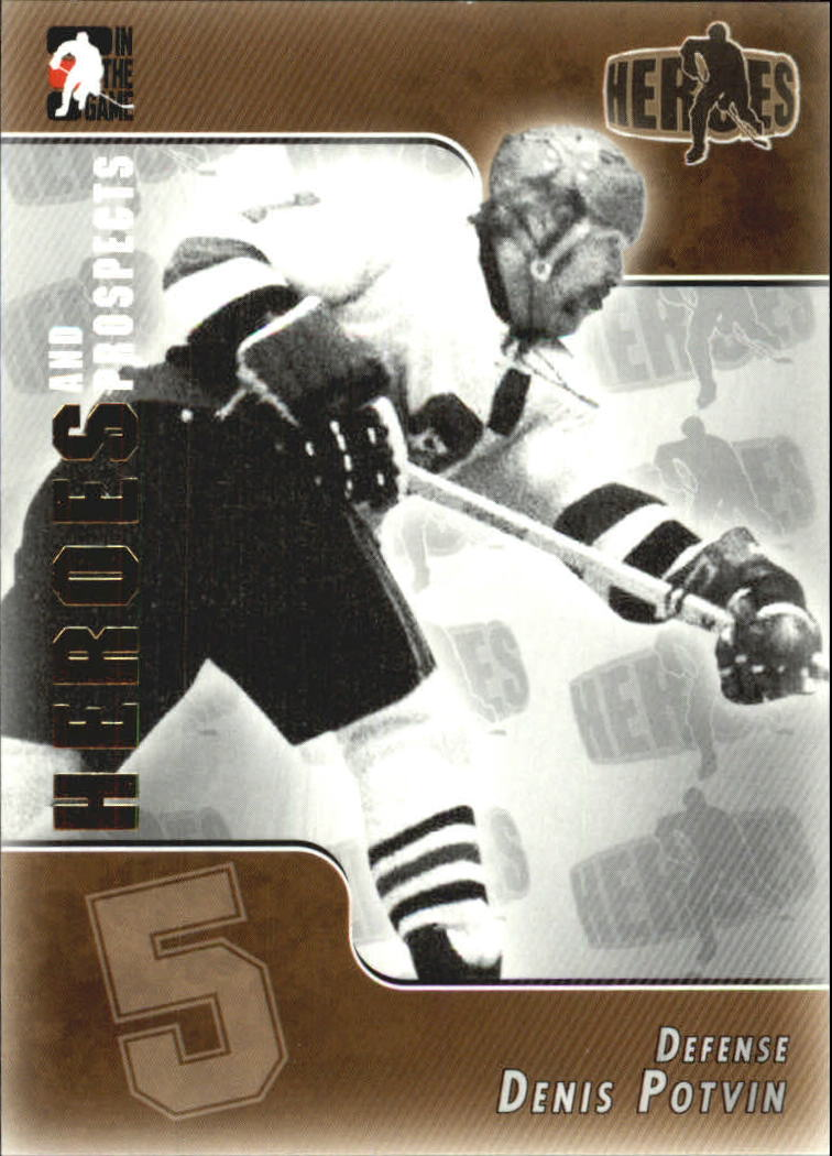 2004-05 ITG Heroes and Prospects #141 Denis Potvin