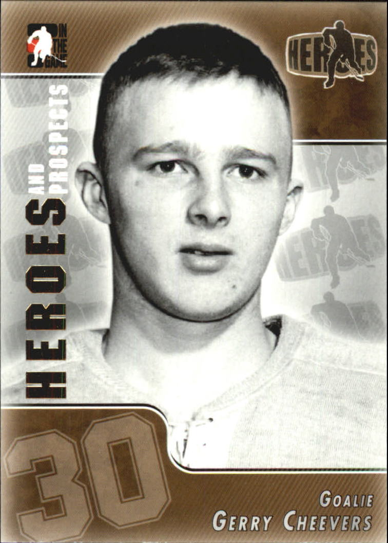 2004-05 ITG Heroes and Prospects #142 Gerry Cheevers