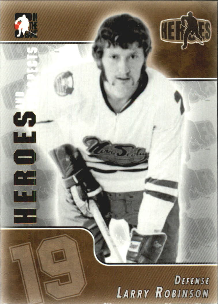 2004-05 ITG Heroes and Prospects #144 Larry Robinson