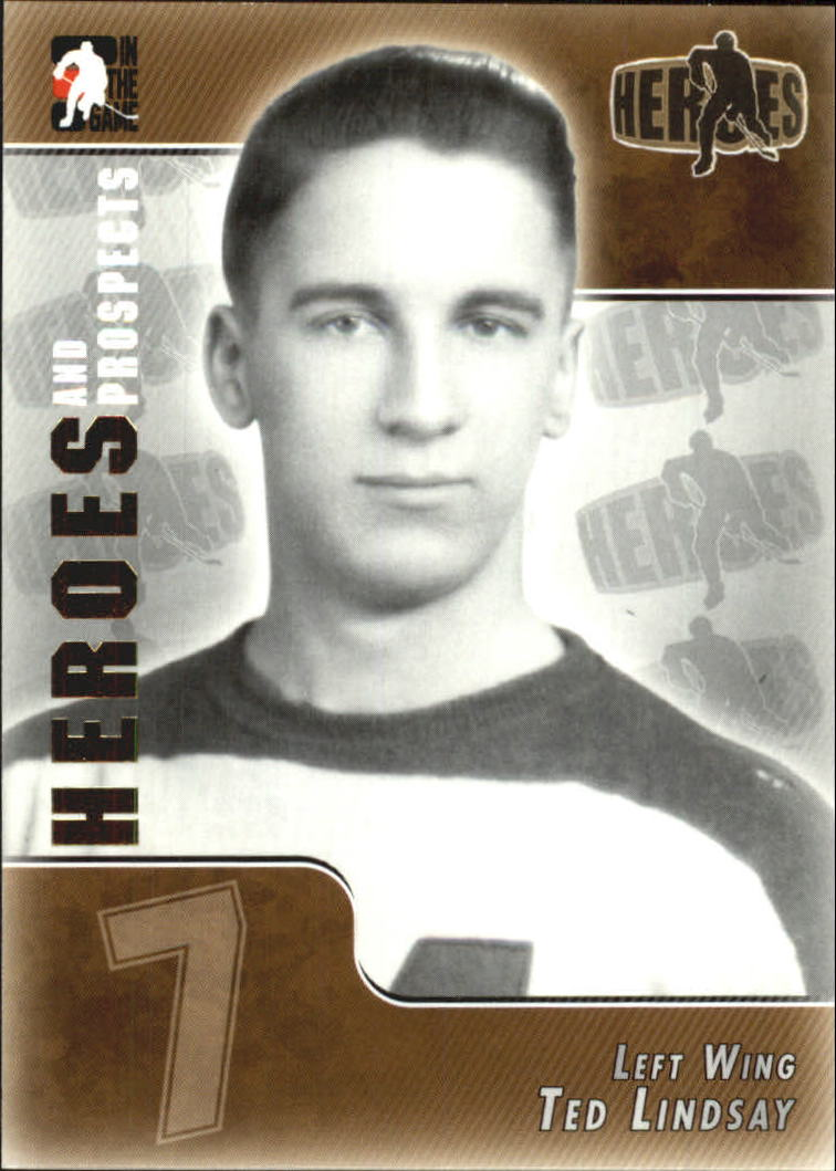 2004-05 ITG Heroes and Prospects #147 Ted Lindsay