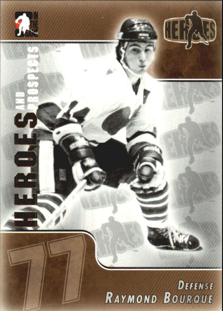 2004-05 ITG Heroes and Prospects #150 Ray Bourque