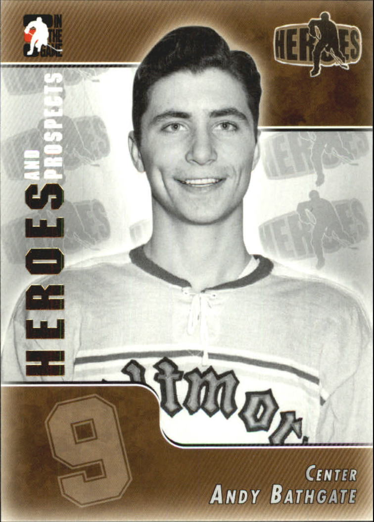 2004-05 ITG Heroes and Prospects #155 Andy Bathgate