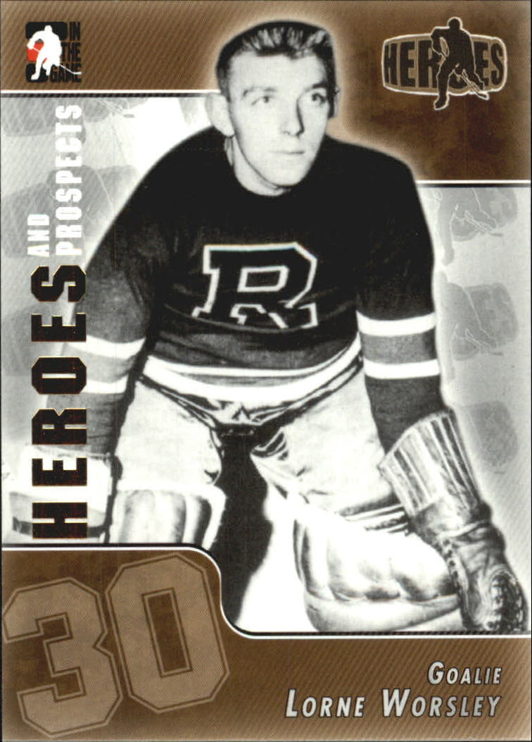 2004-05 ITG Heroes and Prospects #156 Gump Worsley