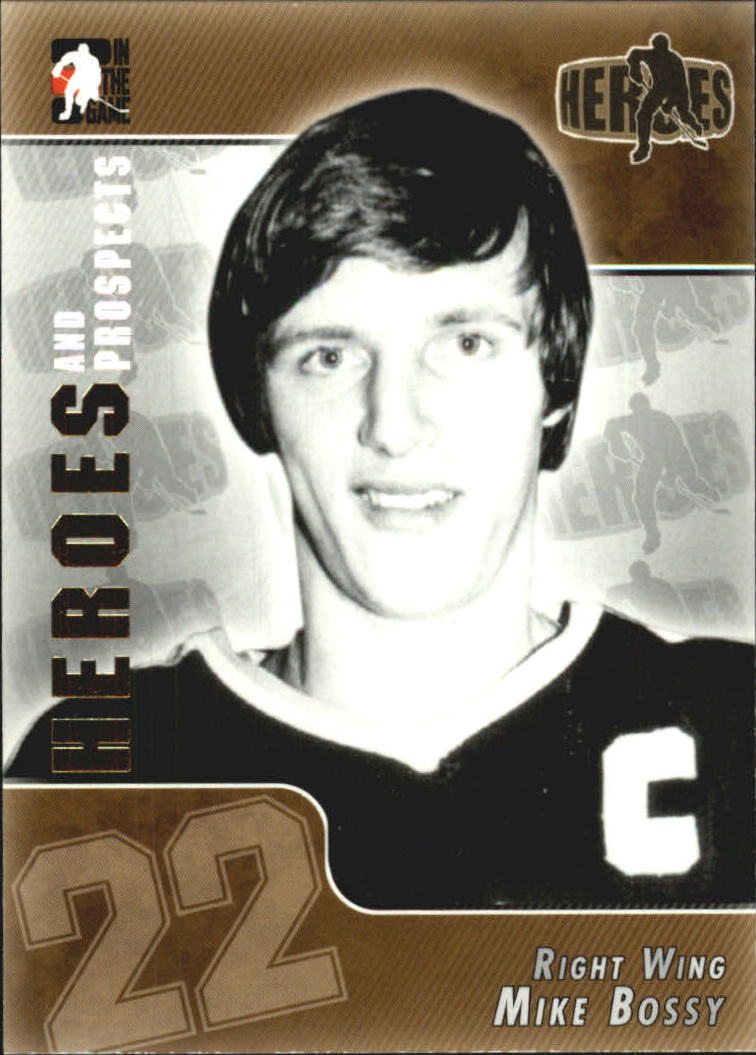 2004-05 ITG Heroes and Prospects #158 Mike Bossy