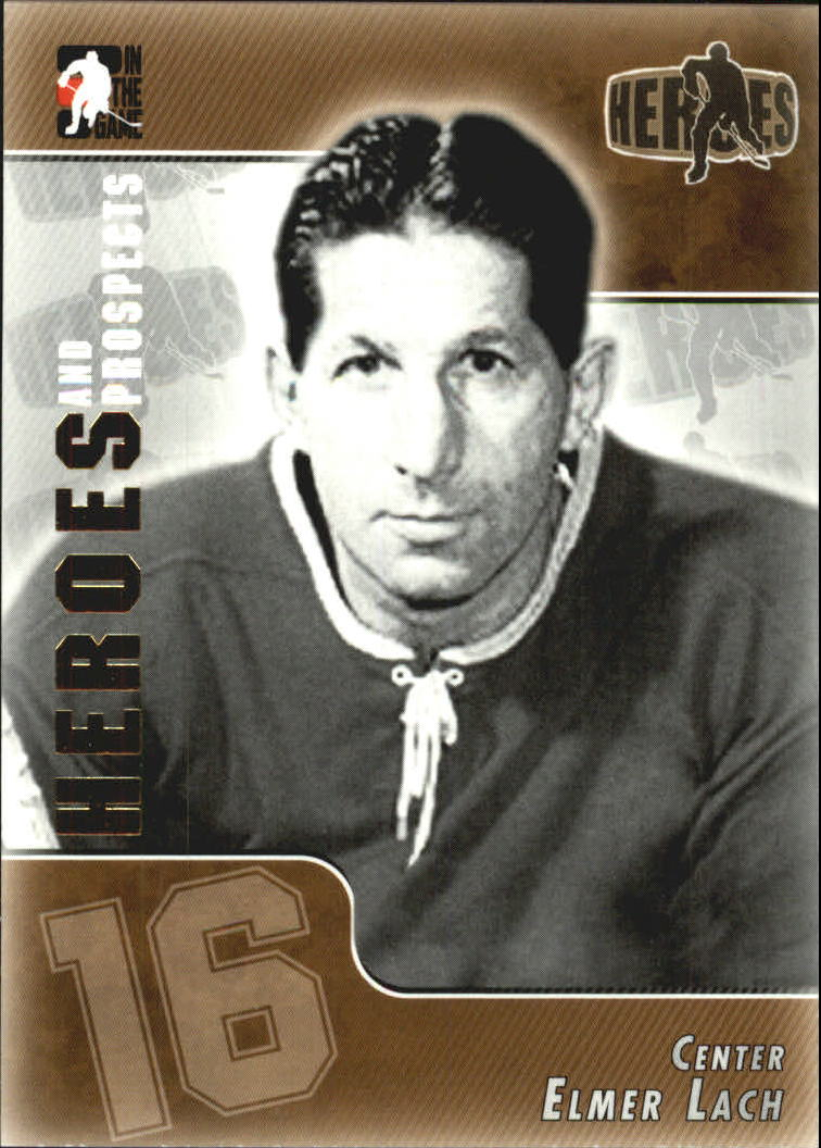 2004-05 ITG Heroes and Prospects #160 Elmer Lach