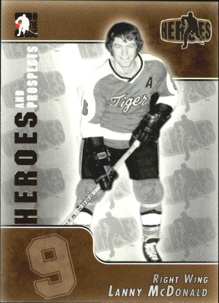 2004-05 ITG Heroes and Prospects #162 Lanny McDonald front image