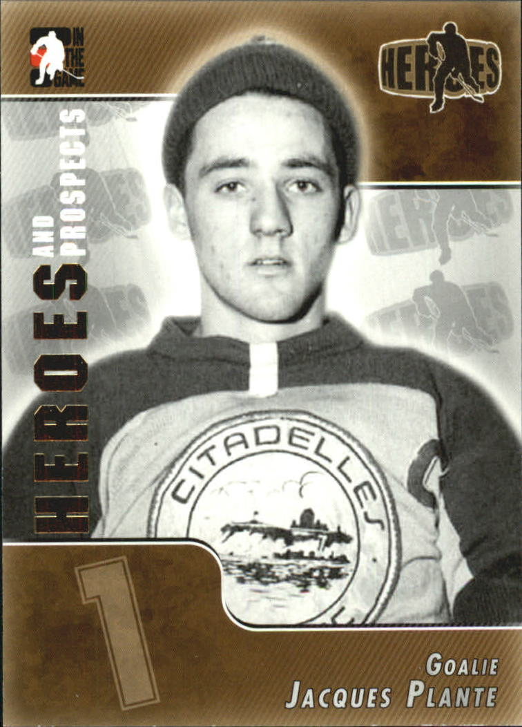 2004-05 ITG Heroes and Prospects #164 Jacques Plante