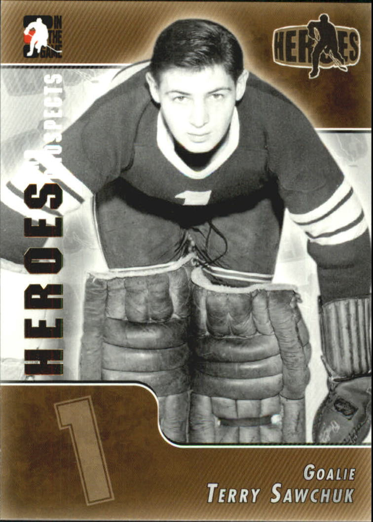 2004-05 ITG Heroes and Prospects #165 Terry Sawchuk