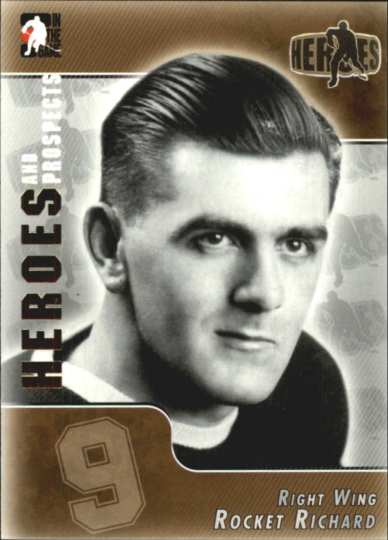 2004-05 ITG Heroes and Prospects #166 Rocket Richard