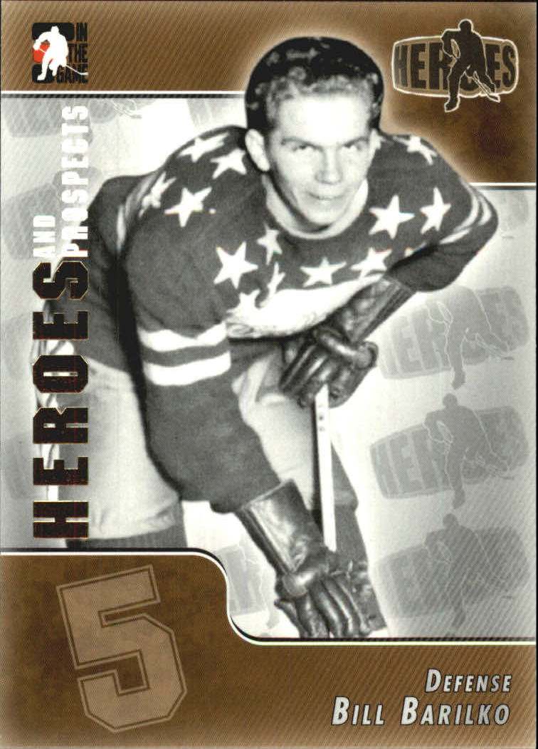 2004-05 ITG Heroes and Prospects #169 Bill Barilko