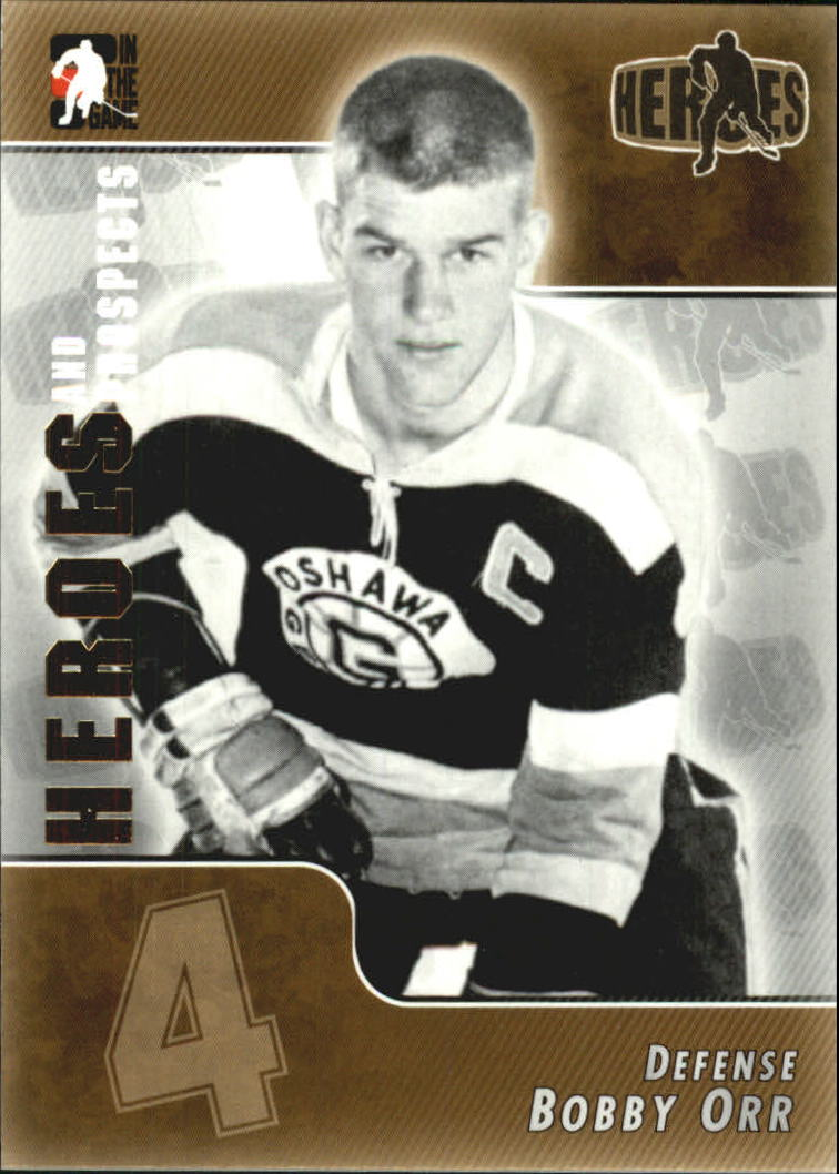 2004-05 ITG Heroes and Prospects #171 Bobby Orr
