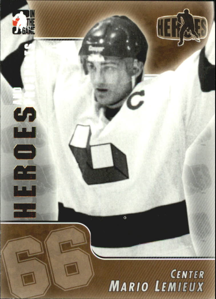 2004-05 ITG Heroes and Prospects #172 Mario Lemieux