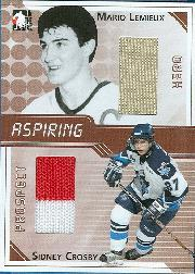 2004-05 ITG Heroes and Prospects Aspiring #1 Mario Lemieux/Sidney Crosby