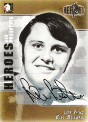 2004-05 ITG Heroes and Prospects Autographs #BBA Bill Barber