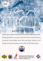2004-05 Upper Deck Three Stars #AS13 Wayne Gretzky back image