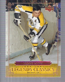 2004-05 UD Legends Classics #33 Johnny Bucyk