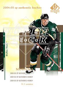 2004-05 SP Authentic #28 Mike Modano
