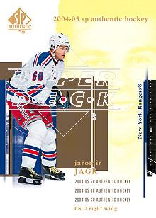2004-05 SP Authentic #57 Jaromir Jagr