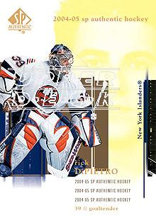 2004-05 SP Authentic #59 Rick DiPietro