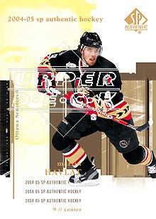2004-05 SP Authentic #63 Martin Havlat