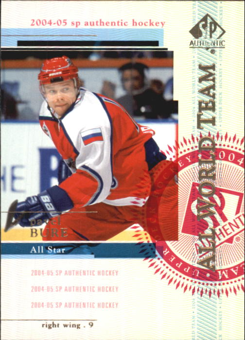 2004-05 SP Authentic #127 Pavel Bure AW
