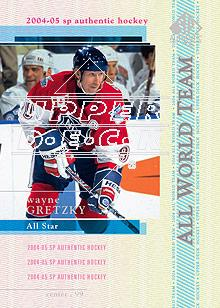 2004-05 SP Authentic #129 Wayne Gretzky AW