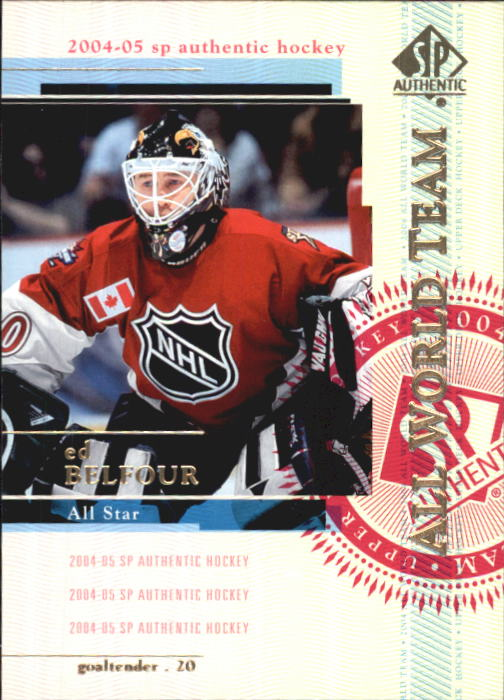 2004-05 SP Authentic #146 Ed Belfour AW