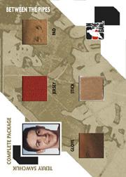 2005-06 Between the Pipes Complete Package #CP5 Terry Sawchuk