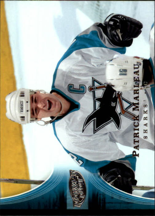 2005-06 Upper Deck Power Play #75 Patrick Marleau