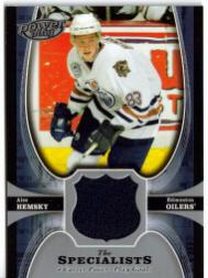 2005-06 UD Powerplay Specialists #TSAH Ales Hemsky