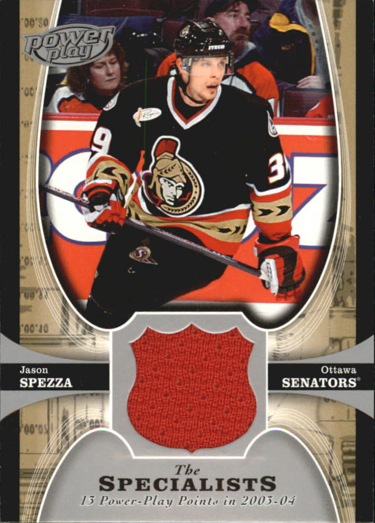 2005-06 Upper Deck Power Play Specialists Jerseys #TSSP Jason Spezza