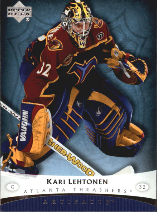 2005-06 Artifacts #6 Kari Lehtonen
