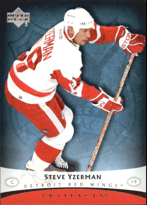 2005-06 Artifacts #39 Steve Yzerman