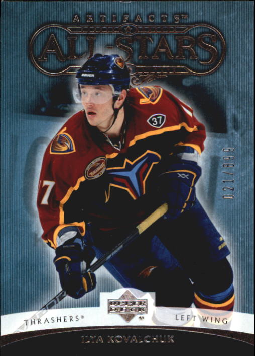 2005-06 Artifacts #152 Ilya Kovalchuk AS