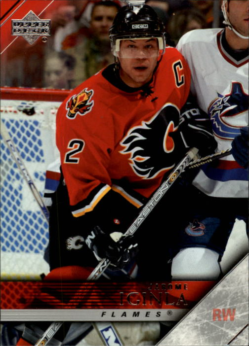 2005-06 Upper Deck #25 Jarome Iginla