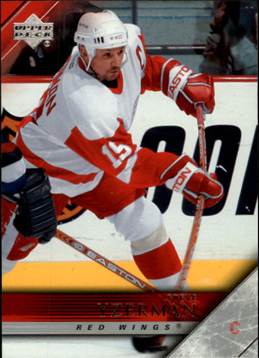 2005-06 Upper Deck #66 Steve Yzerman