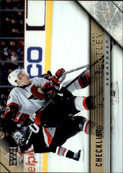 2005-06 Upper Deck #442 Dany Heatley CL front image