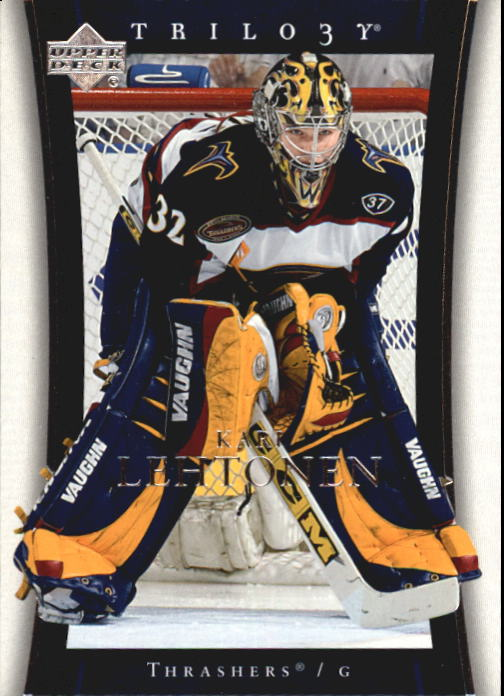 2005-06 Upper Deck Trilogy #6 Kari Lehtonen