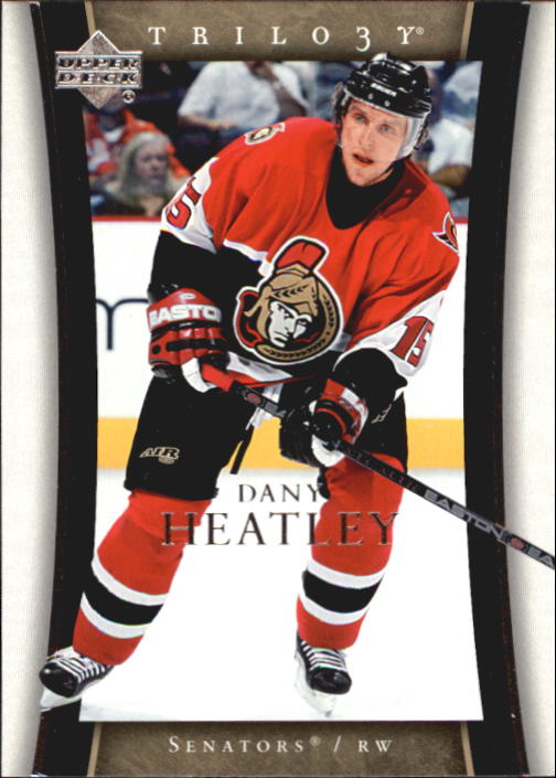 2005-06 Upper Deck Trilogy #61 Dany Heatley