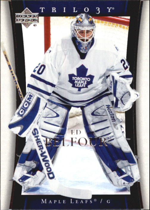 2005-06 Upper Deck Trilogy #84 Ed Belfour