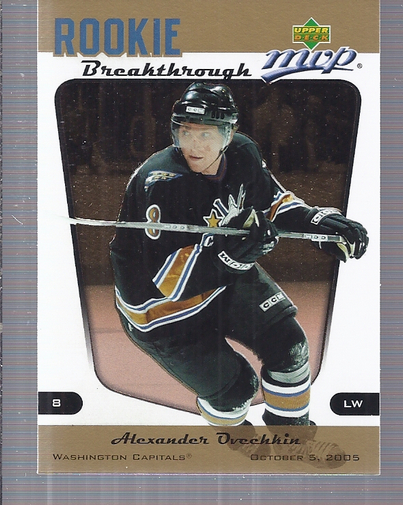 2005-06 Upper Deck MVP Rookie Breakthrough #RB2 Alexander Ovechkin